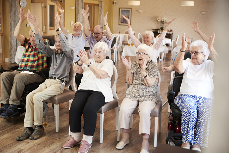 HEALTH ACTIVITIES - The Parker Senior Center offers an assortment of activities including yoga, exercise class, educational speakers; giving seniors the chance to socialize.We provide health maintenance clinics throughout a seven county area along with in-home services to homebound seniors. These clinics include blood pressure checks, foot care and flu shots. Our services are done on a donation basis, allowing us to help seniors keep their health costs affordable.