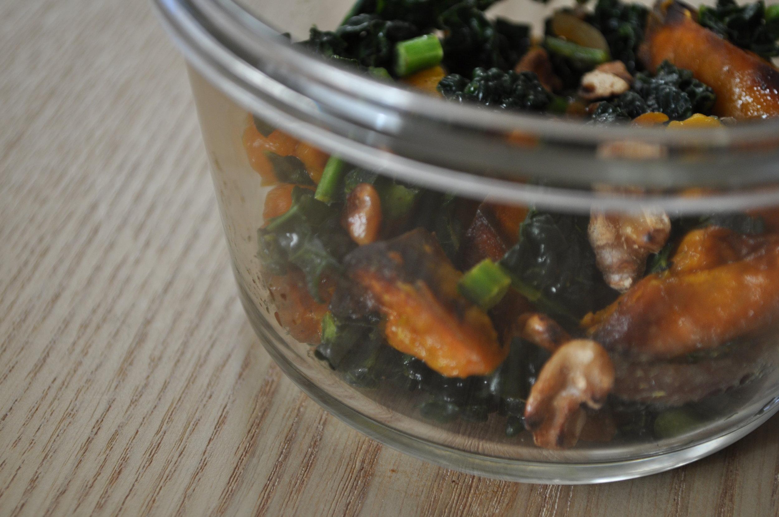 kale butternut squash recipe