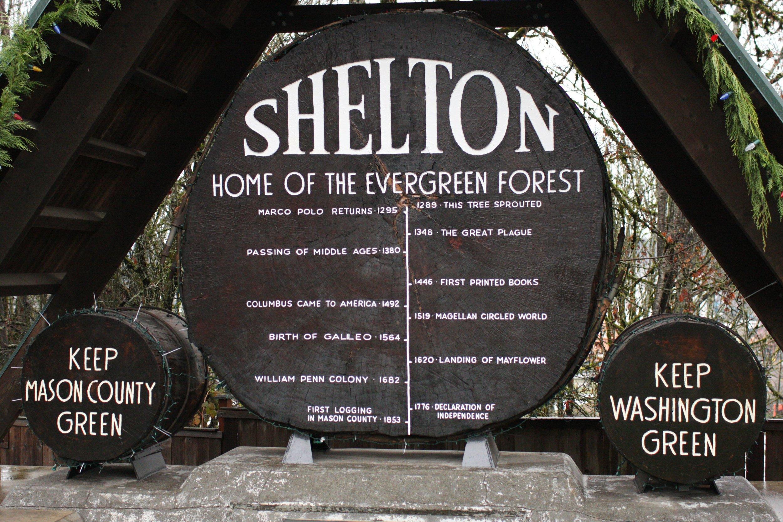 Monarch grow shelton washington evergreen forest