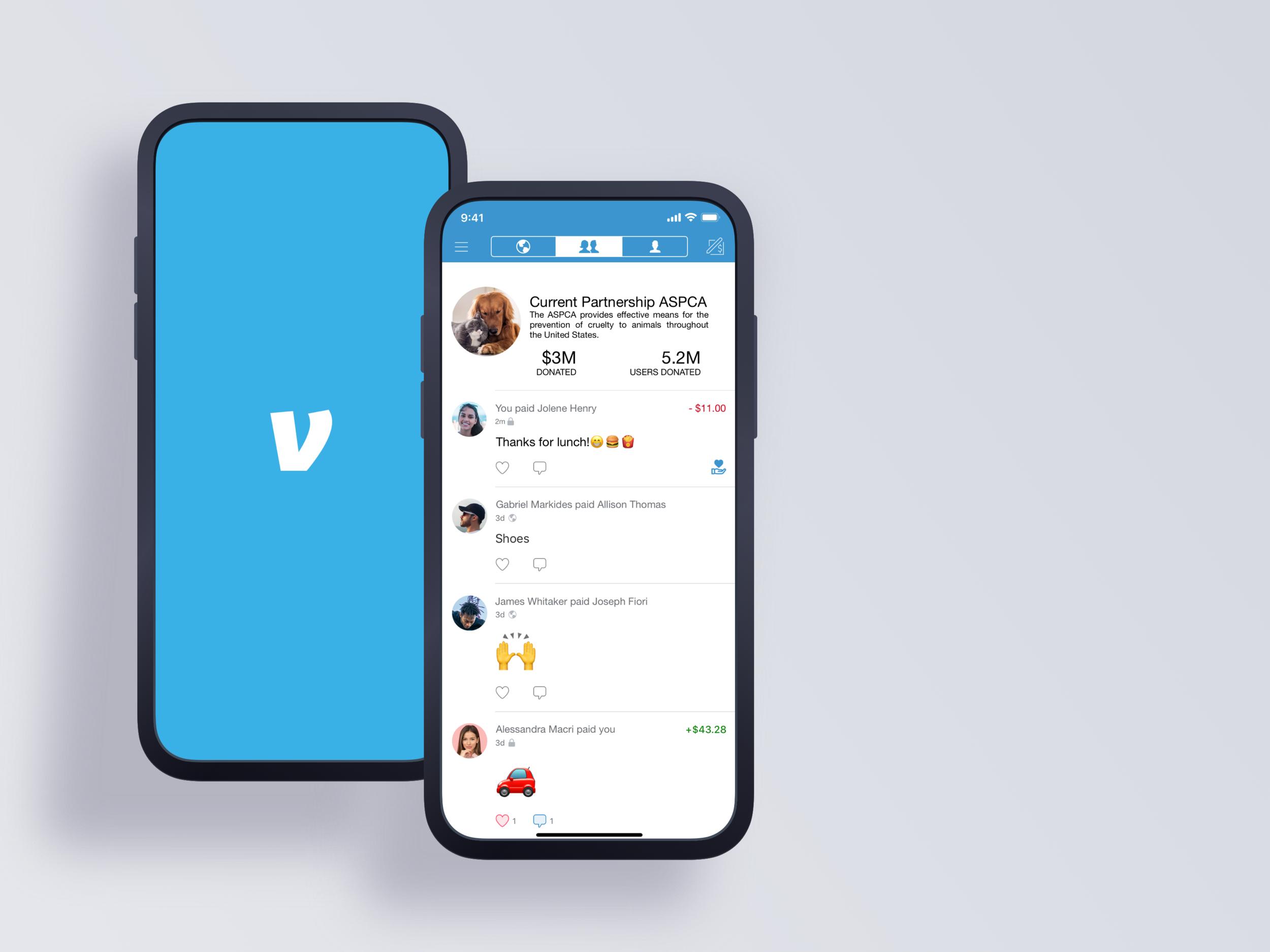 Venmo - Interaction Design | Apple iOS | Conceptual Project