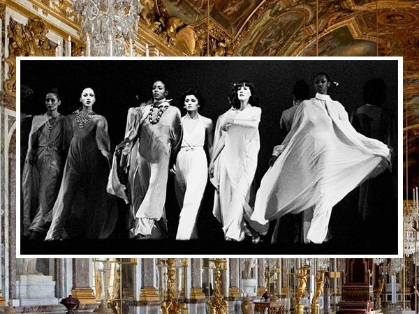 Paris Fashion Week 1973 at The Palace of Versailles