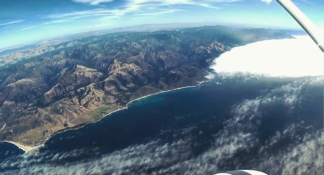 Flight testing our NOAA weather payload over Big Sur and the Pacific Ocean. Watch the full video, link in bio!