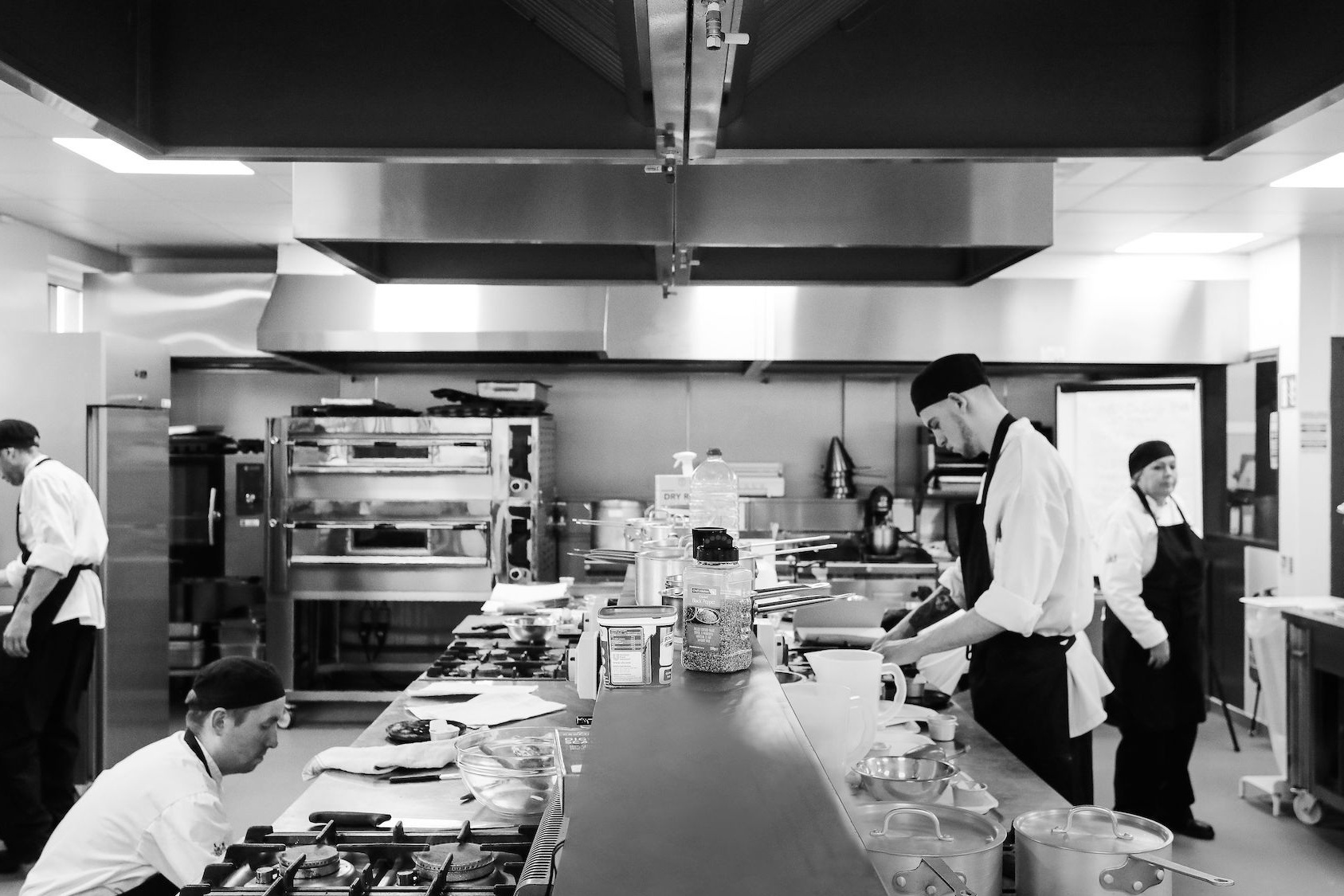 Two industry standard kitchens - (including a commercial pizza oven). They offer a realistic environment to train in. They are HACCP compliant & the professional equipment meets the special validation requirements to offer QQI level 3 - level 6 awards.