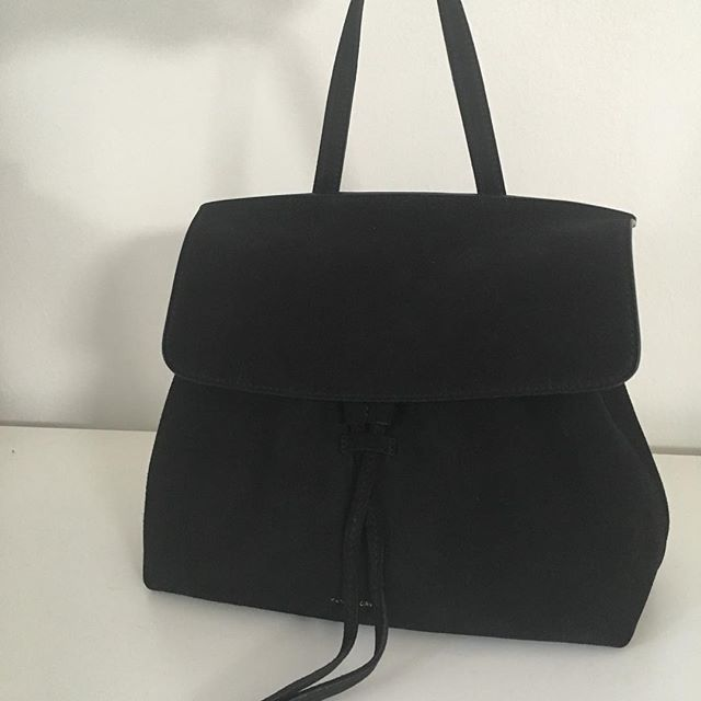 "ITEM: Mini Lady Bag  BRAND: Masur Gavriel  COLOR: black SIZE: 8.5"" H X 12"" W X 4.5"" D CONDITION: like new, worn twice  PRICE: $475 (retails $750) SHIPPING: $10 (U.S. only) MATERIAL: 100% suede + metal hooks and loops for detachable/adjustable shoulder strap SELLER: @0kkia PROTOCOL: please tag me and leave your zip code to purchase. item goes to first zip code listed. please dm me your email so I can invoice you. If there are backups for this item I will move onto them after 3 hours of sending invoice."