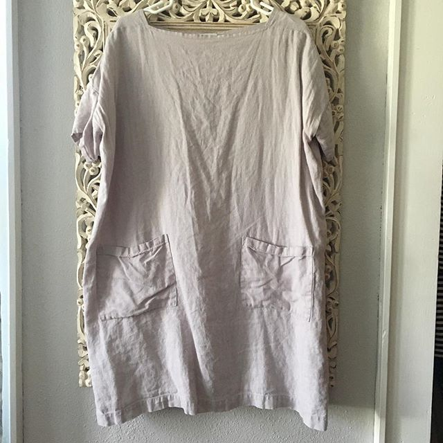 ITEM: super versatile dress/tunic. Looks great over tights, leggings and jeans as well as bare legs! BRAND: Not Perfect Linen COLOR: pale lilac SIZE: OS CONDITION: very good used condition - linen is perfectly worn in  PRICE: $75 SHIPPING: free MATERIAL: linen MEASUREMENTS: ptp 26, l 36 SELLER: @claralea HASHTAGS (#NB____): #NBlinen #NBsmall #NBmedium #NBlarge PROTOCOL: please tag me and leave your zip code to purchase. item goes to first zip code listed. please dm me your email so I can invoice you. If there are backups for this item I will move onto them after 3 hours of sending invoice.