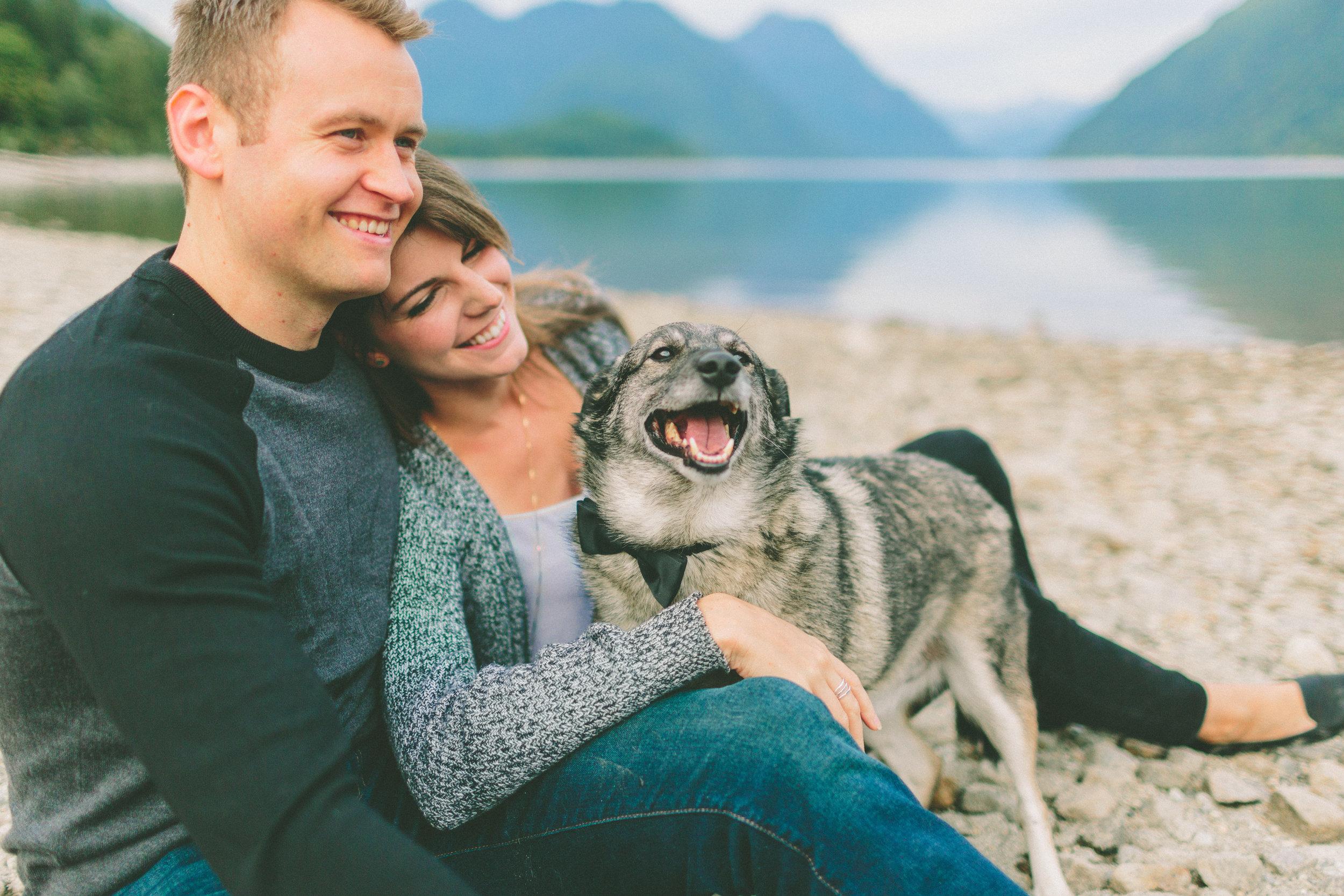 Sara + David - alouette lake