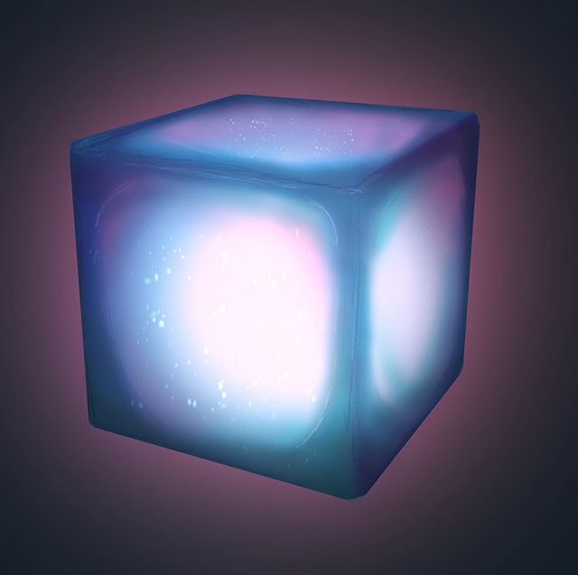"Practicing ""Glowing objects"". #procreateapp #digitallyart #painting #glowing #glowingobject #pixelart #digitalart #digital #digitalpainting # #ipadart #artist #painter #cube #glowingcube #digital_art #procreate #procreateartist"