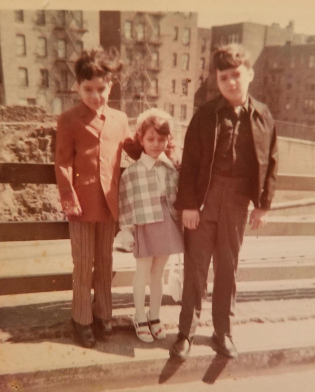 The Ramírez family. Easter Sunday, 1960s.    READ THEIR STORY.