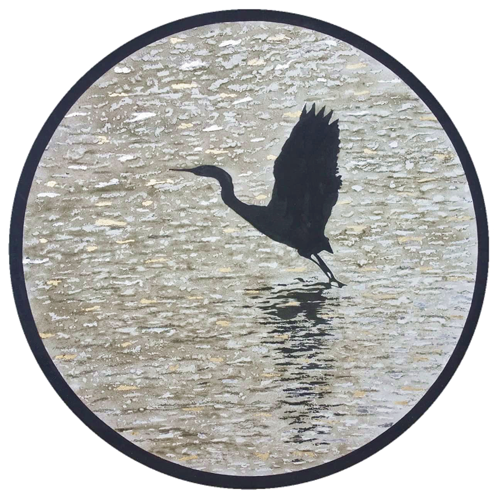 """""""Treasures"""" SOLD - sometimes unexpected treasures lay in the little details crossing our paths  Size: 1200 mm diameter"""
