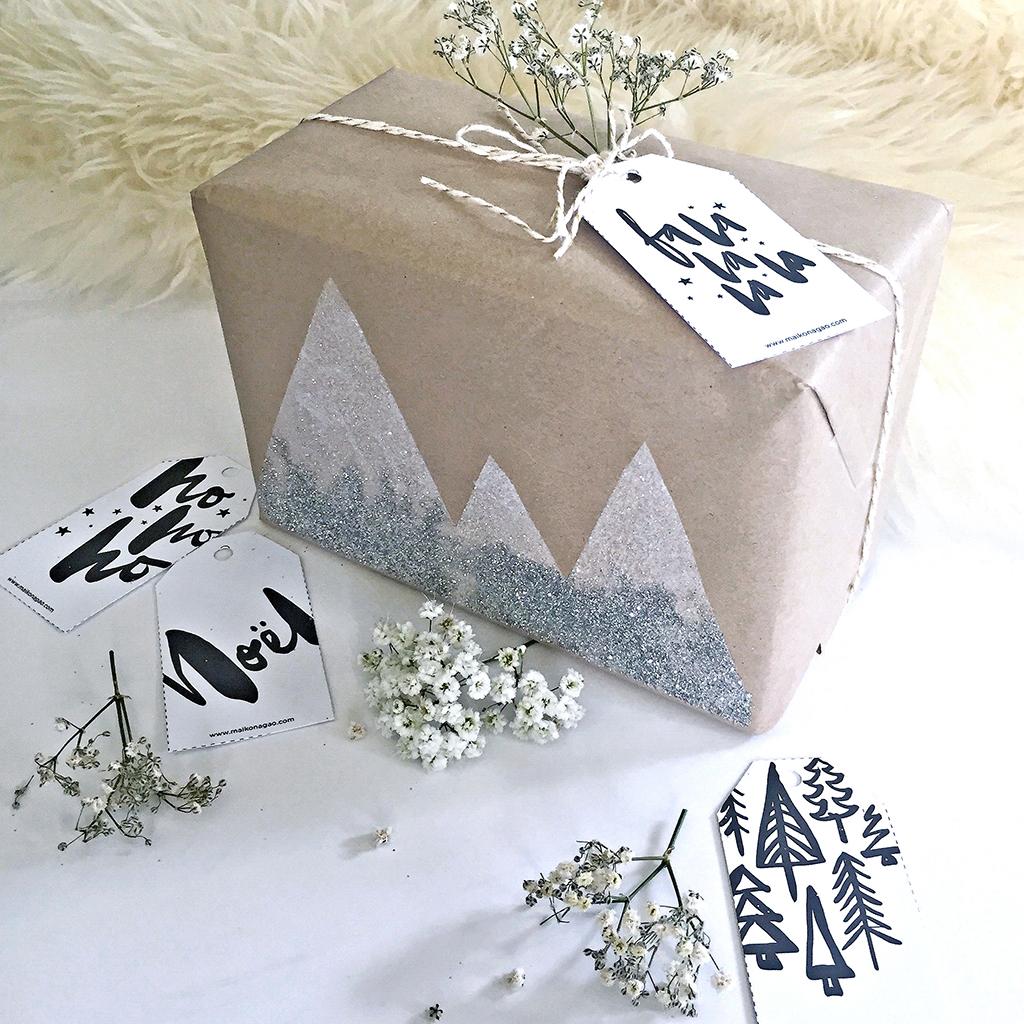 DIY: Snowy mountain Christmas gift wrap  Stuff.co.nz - 14 December 2016