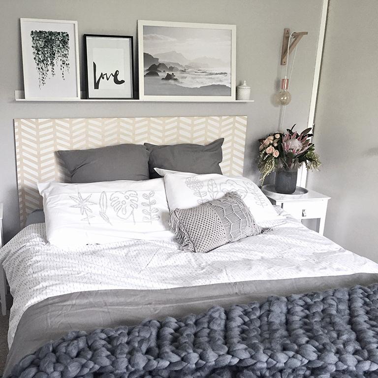 Blog: Julie's Scandi bedroom makeover  Habitat by Resene - 15 December 2016