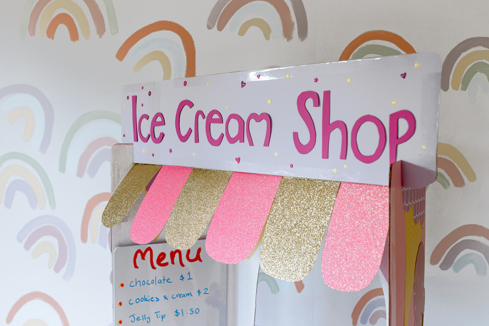 Heading DIY Cardboard Ice Cream Shop by Clever Poppy.jpg