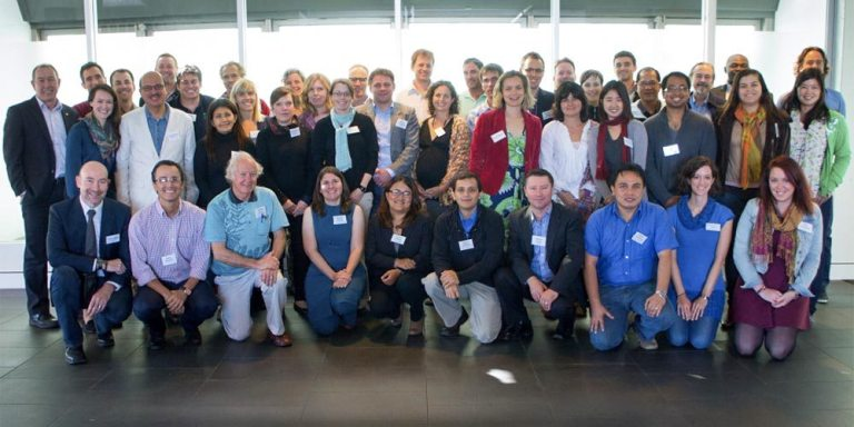 The International Blue Carbon Initiative Scientific Workshop participants at the University of Technology, Sydney May 15, 2013. Photo courtesy of CI.