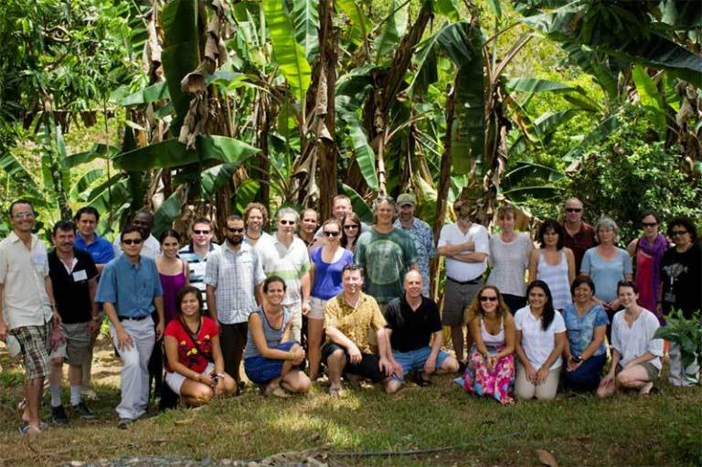 Blue Carbon Scientific Working Group members in Costa Rica March 2012. Photo courtesy of CI.