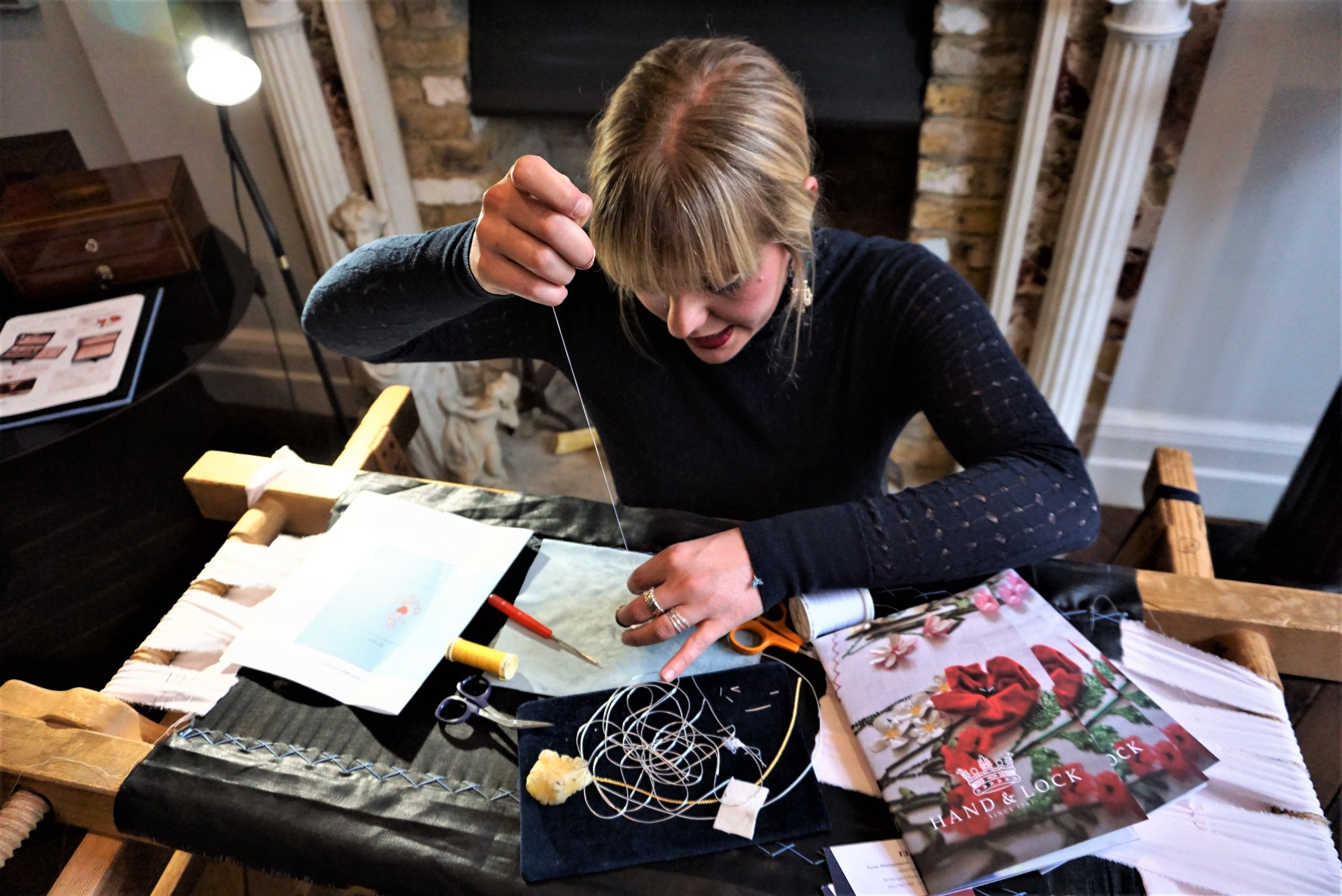 RuePigalle_Blog_LondonCraftWeek_BestO_JessicaMcCormack_CockPitArts_Restaurnats_hand and lock at jessica mccormack.JPG
