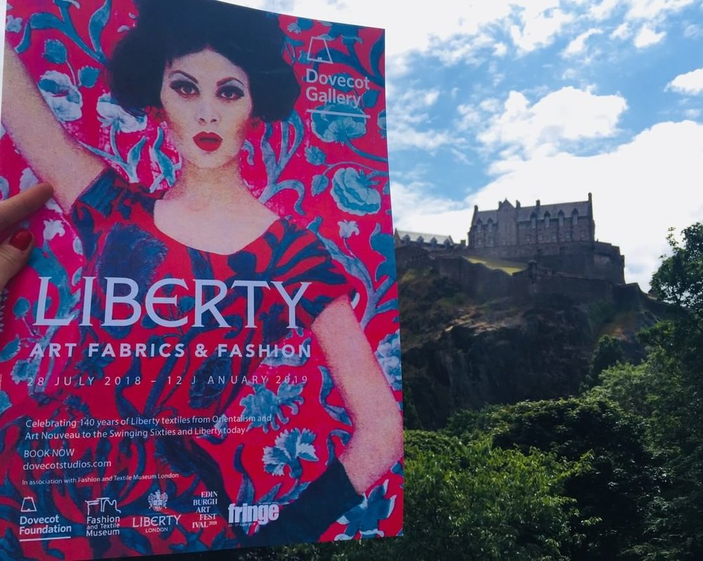 Liberty London Fashion Exhibition, Edinburgh 2018 -