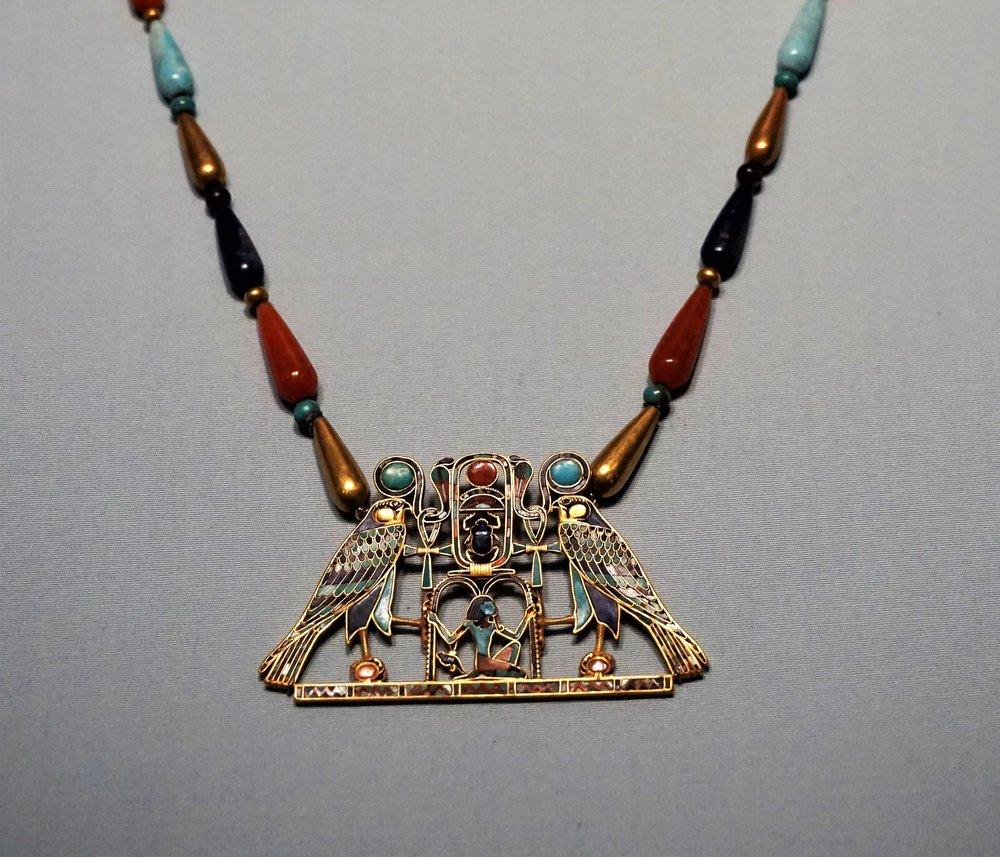 Chest ornament giving life and rule for eternity to Pharoah Senworsret II