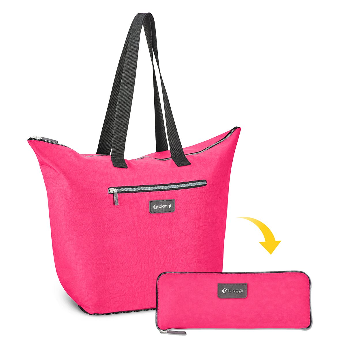 BIAGGI ZIP BAG COMES IN A WIDE VARIETY OF COLORS