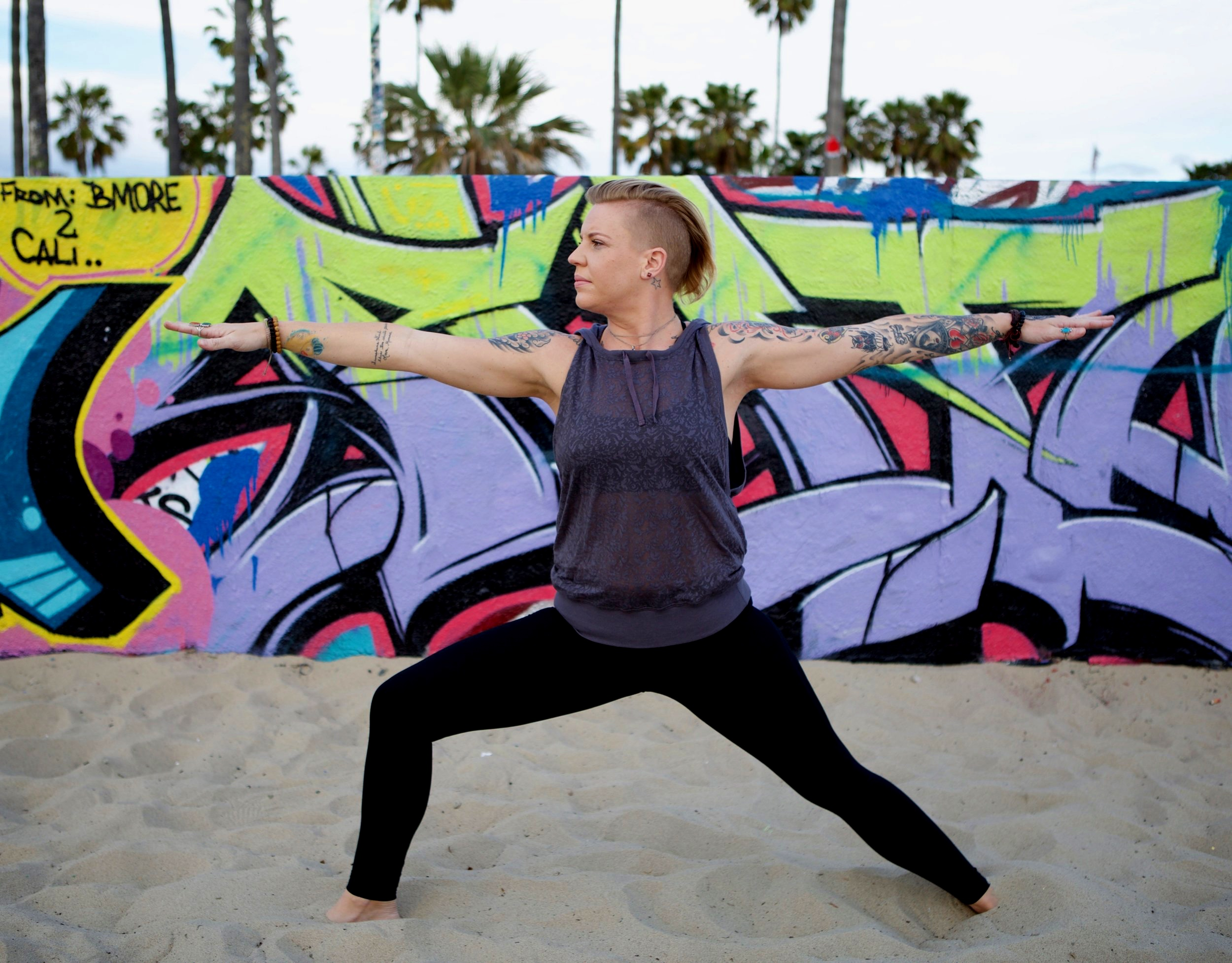 Brandee Hewlett - Brandee has experienced a deep transformation because of a steady and faithful yoga practice. Additionally, she has used cannabis in her personal yoga practice for years. Her passion is to share these practices with others to show that cannabis-enhanced yoga helps us to become fully present and aware of the subtle sensations of the body.Brandee began her yoga profession in India, where she acquired her 200 hour certificate. It was Mother India that taught her the importance of listening to your body and allowing the breath to guide you through a compassionate practice. Since India, she has continued her education by completing a 50 hour Yin/Restorative training under Govind Das of Bhakti Yoga Shala in Santa Monica, California, a 50 hour Ganja Yoga teacher training with founder and author of Ganja Yoga, Dee Dussault, as well as a trauma informed training led by Gemini Adams.Brandee's classes take you on a journey using pranayama, meditation, and asana, linked with a ritualistic cannabis experience. She welcomes all levels of experience (yoga + cannabis) into her classes. Let the practice meet you where you are.BHAVA NA SANA HRIDAYAMMay this cannabis be a blessing to my heart.