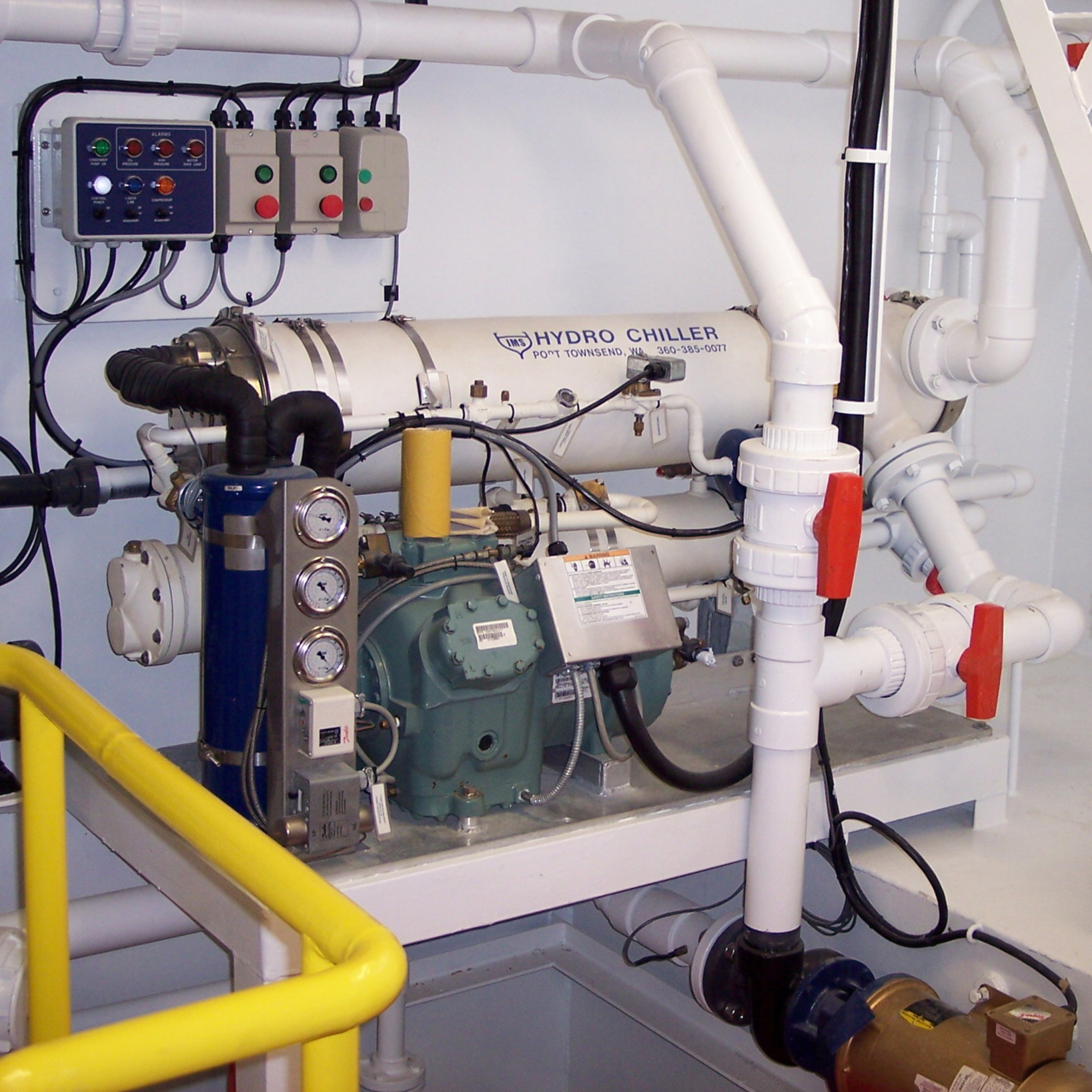 An RSW system aboard an Oceans Fleet vessel.
