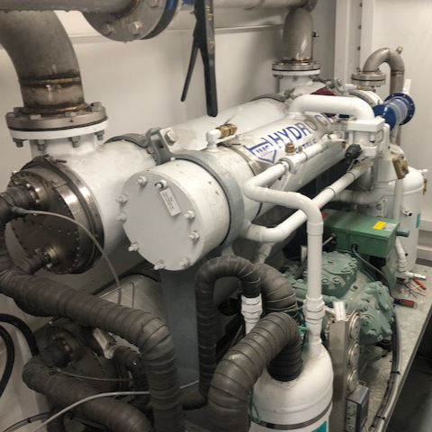 An IMS RSW system on board the F/V Evie Grace.