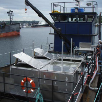 An IMS Live Delivery RSW System aboard the Inaliq. Photo by Coastal Power Fluid.