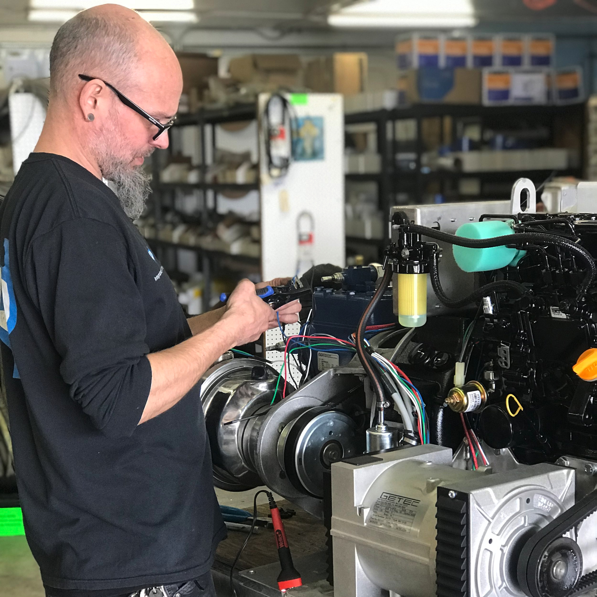Experienced technicians can service units right at our shop in Seattle or on location where you need it.