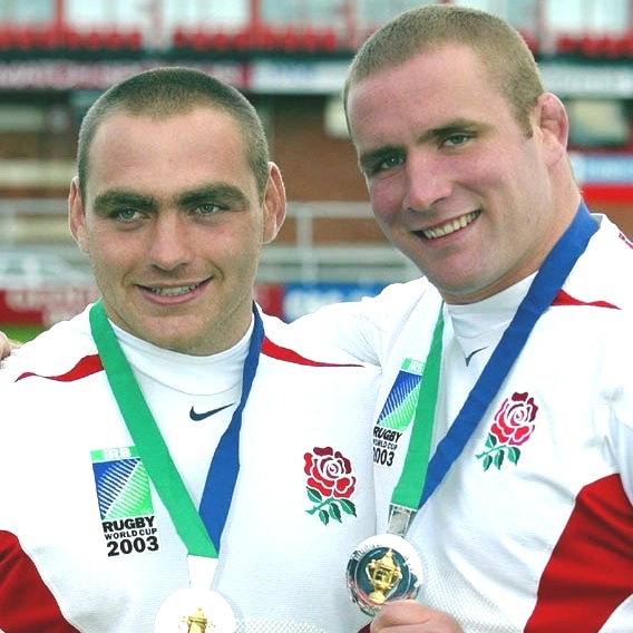 Phil Vickery, Trevor Woodman | England Rugby World Cup Champions