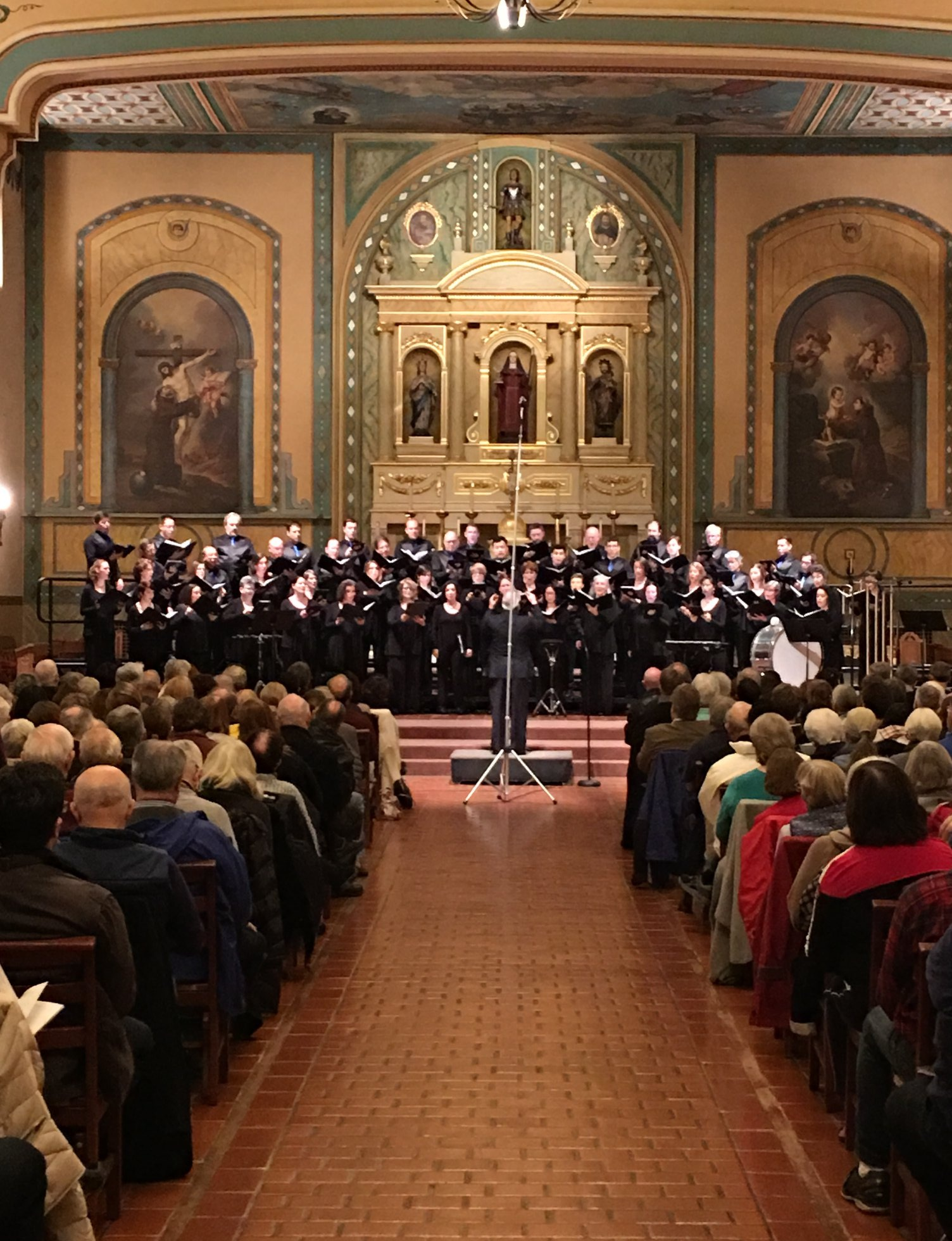 The Choral Project premiering  Incantation, Dance & Ritual  (2015)