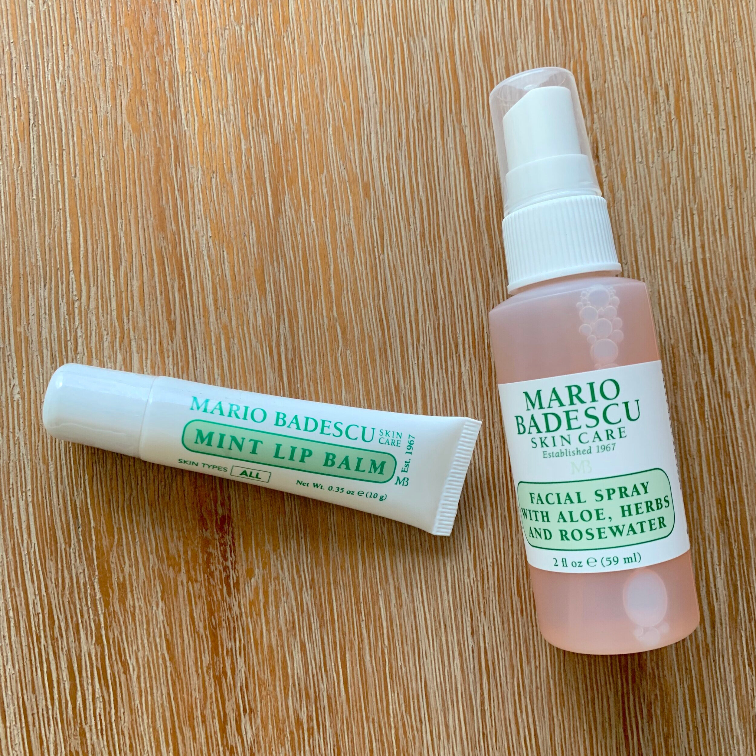 Mario Badescu - Newly founded brand: Mario Badescu that I came across and absolutely love! If you're looking for a lip balm that keeps your precious lips hydrated and long-lasting and/or a daily facial spray to revive yourself during the workweek; this is it! Both smells amazing.However, if you have oily skin like myself… the facial spray is not a matte form, so keep those oil wipes in handy if you're looking to keep your oil under control.Find at your local Ulta store.