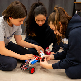 Westside's STEM program allows students to dig into their creative side.