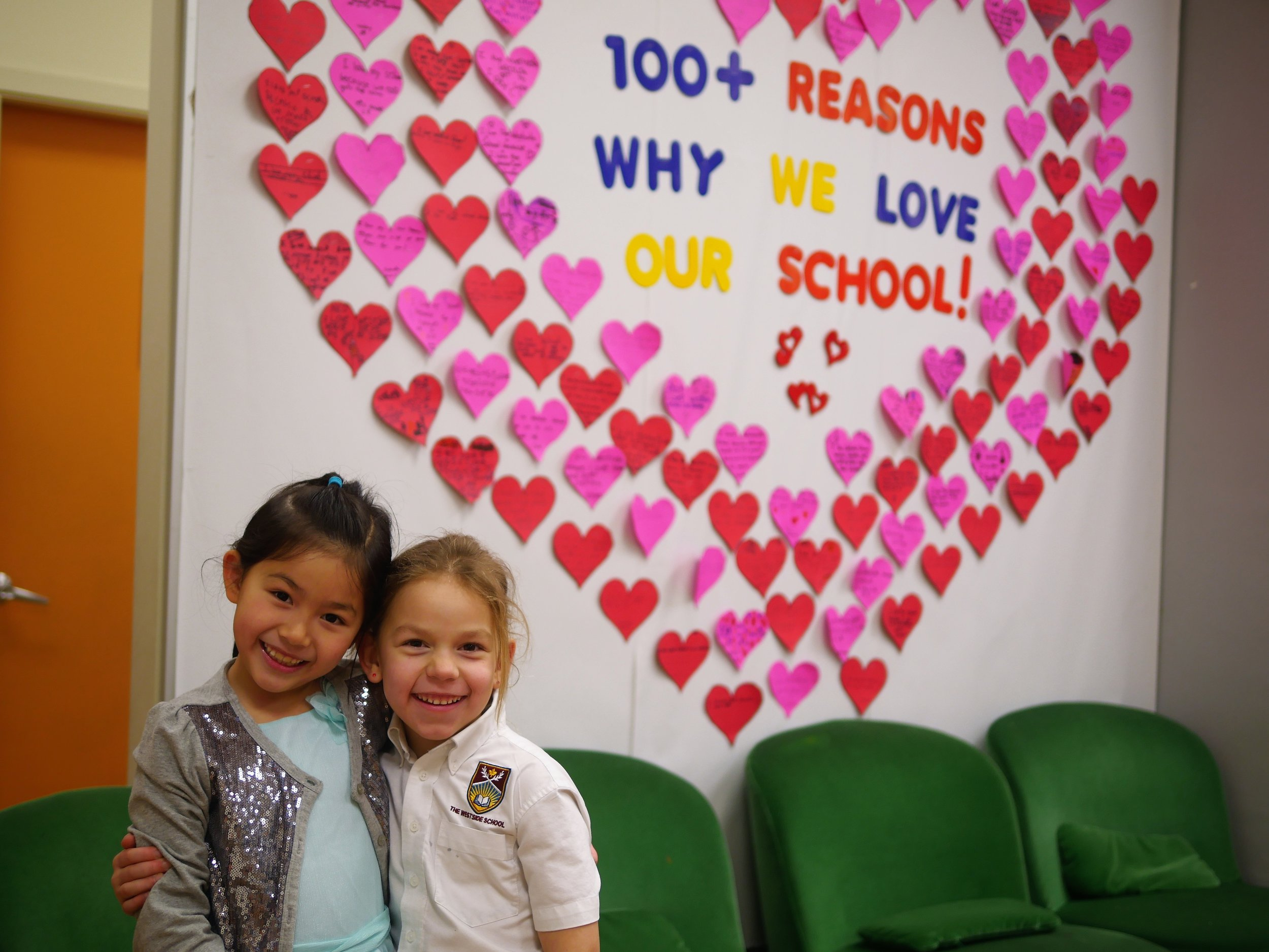 Valentines love our school.JPG