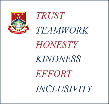 The Westside Schools Core Values