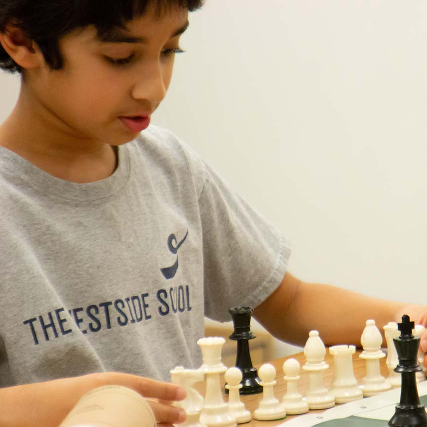 Chess Club is part of Westside's Super C program.