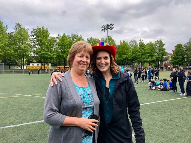 Westside's Head of School (Mrs. Volyanska) and CEO (Mrs. Da Silva) are committed to your success.