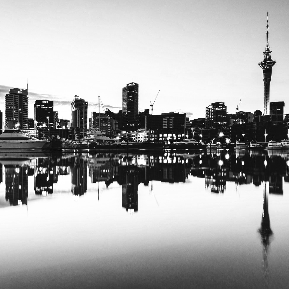 AKL Harbour BW.png