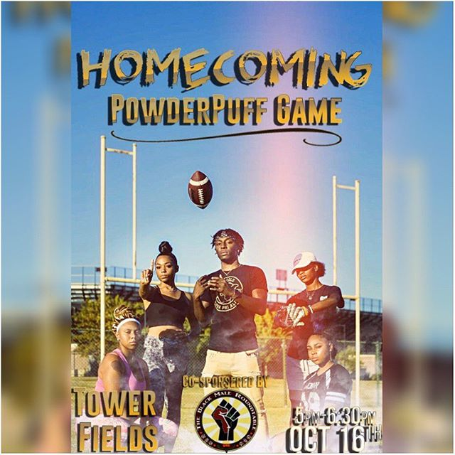 🚨SIU the Powderpuff Flag Football game is Today‼️Come out to see what team will take the Win this year 👀🏈 You don't want to miss out 😎💯 #ALPHAWEEK #HOMECOMING #SIUC20 #SIUC21 #SIUC22 #SIUC23 