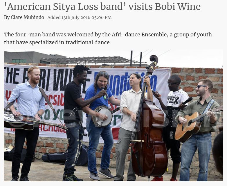 American Sitya Loss Band In Uganda.JPG