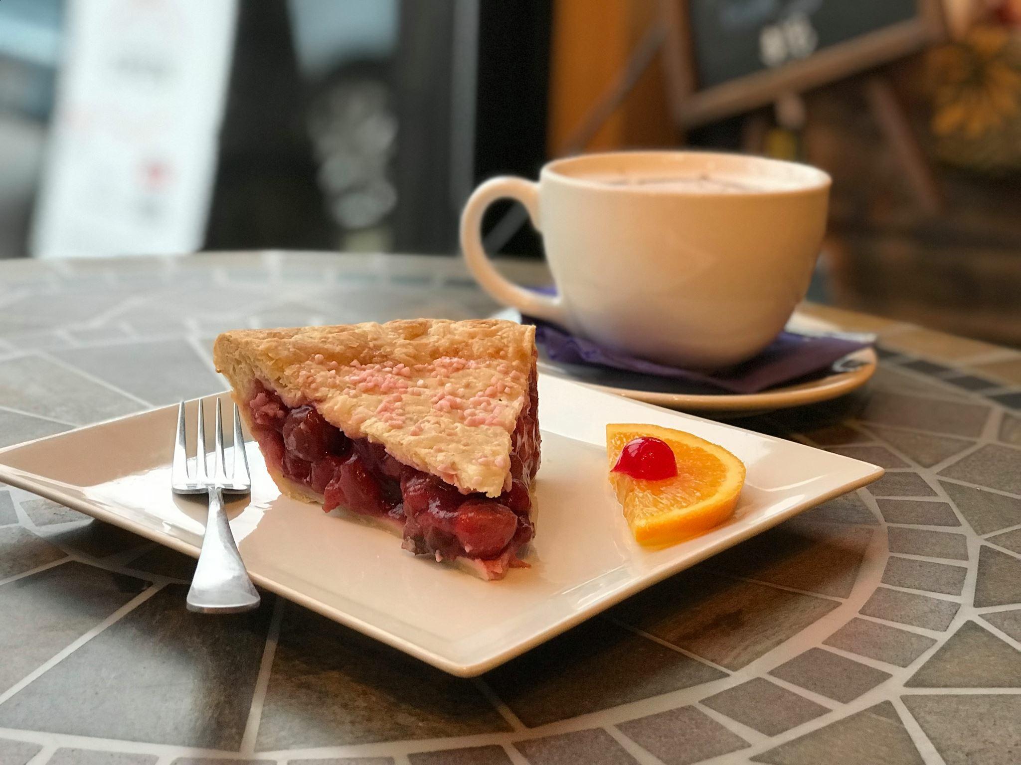 Cherry pie with latte.jpg