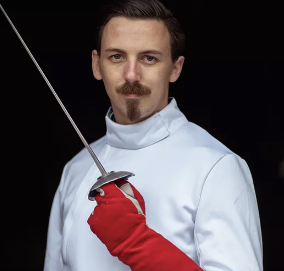 Swordplay LA fencing coach, Ryan Cook