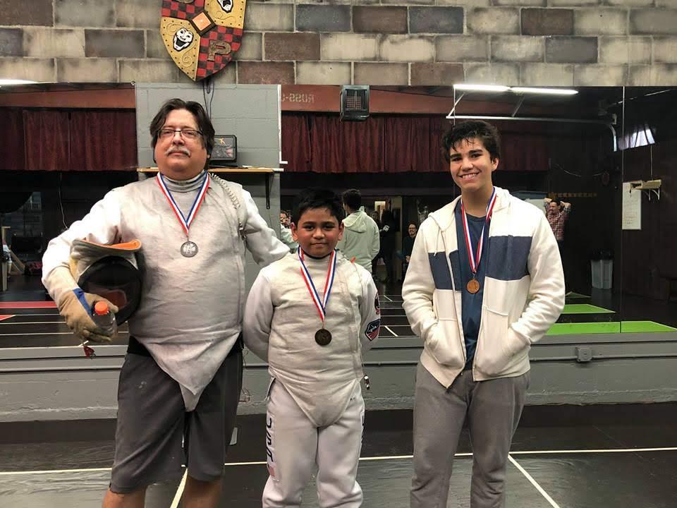 1st Quarterly Fencing Tournament, Adult Foil Winners