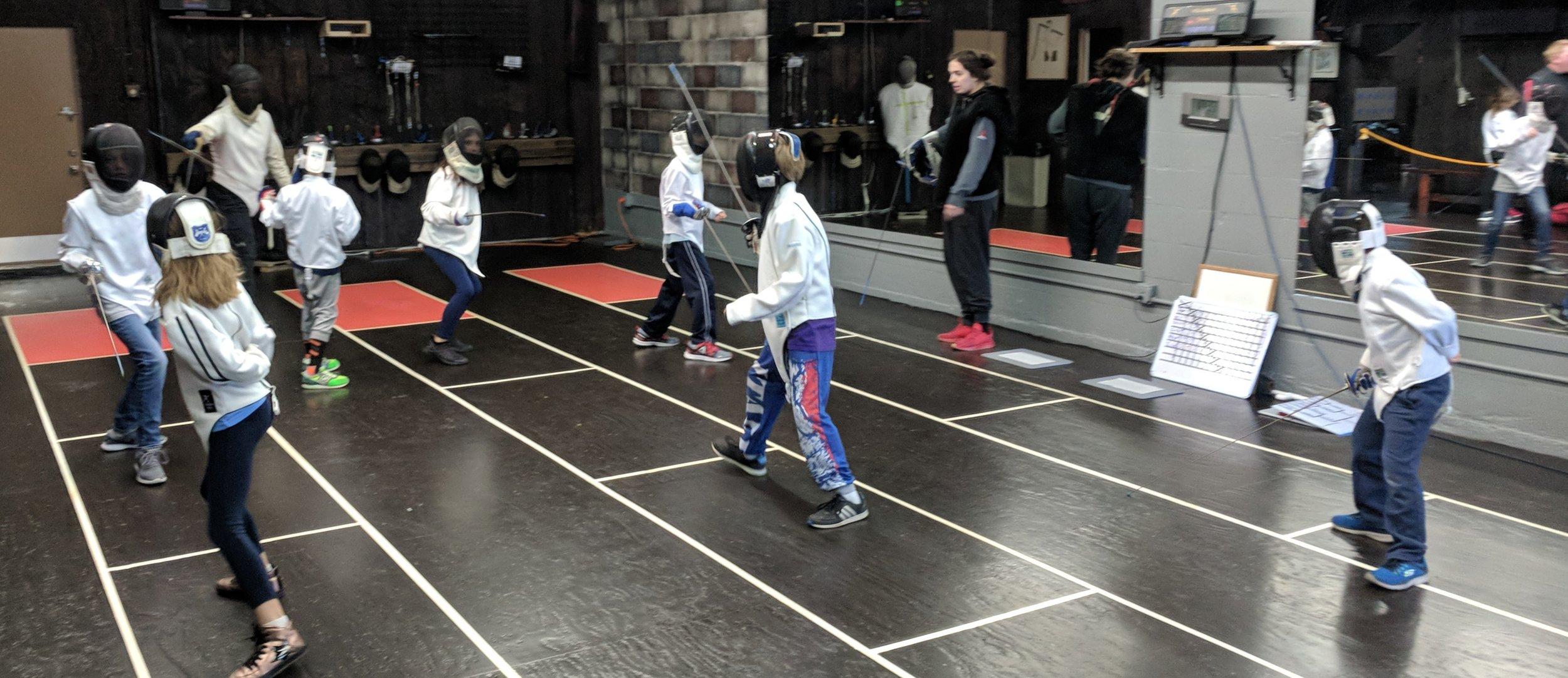 Kids Fencing Saturday Class