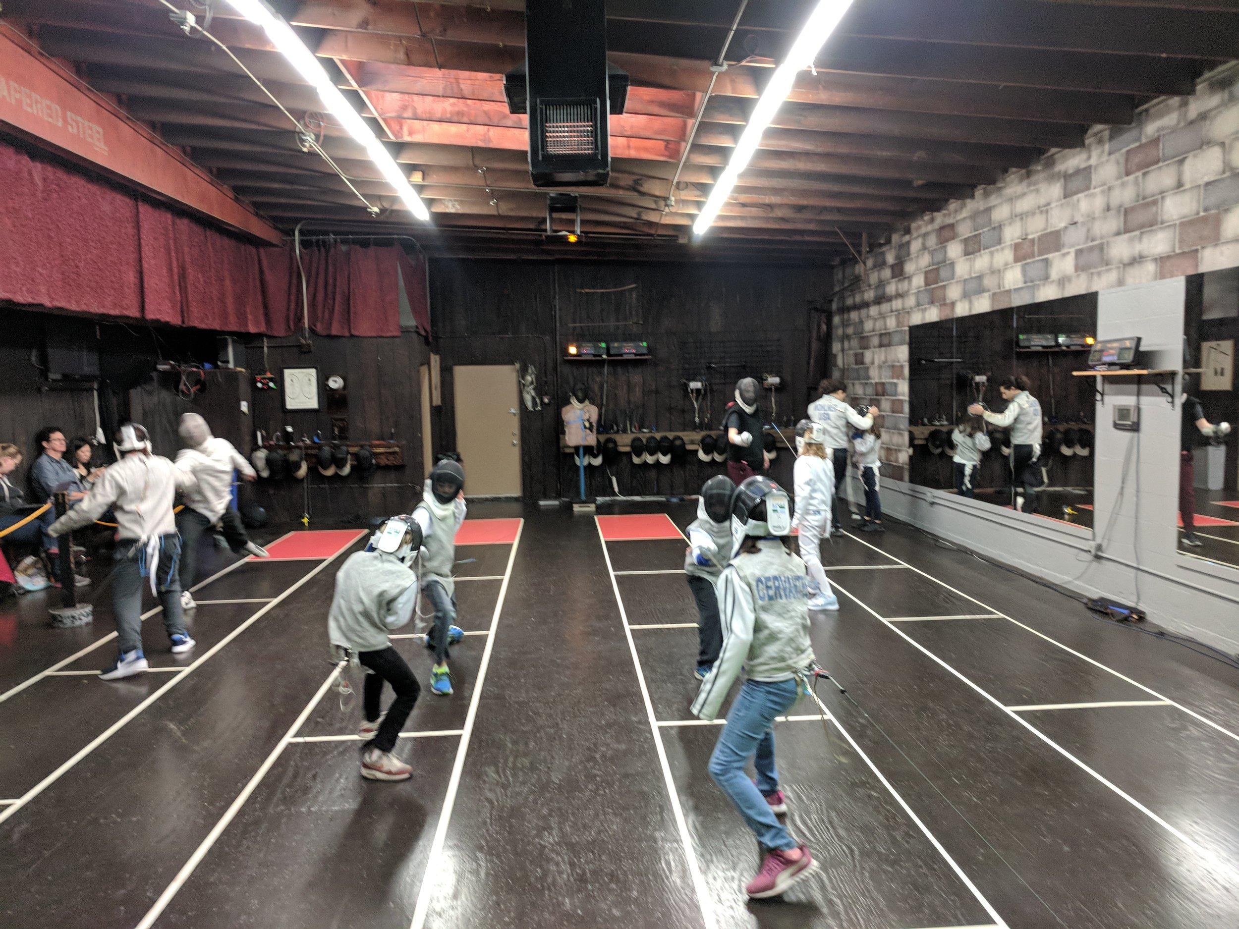 Open Fencing for Kids