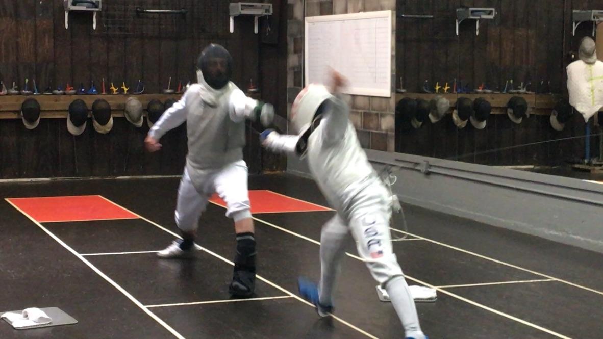 2nd Quarterly Fencing Tournament, Adult Foil 1