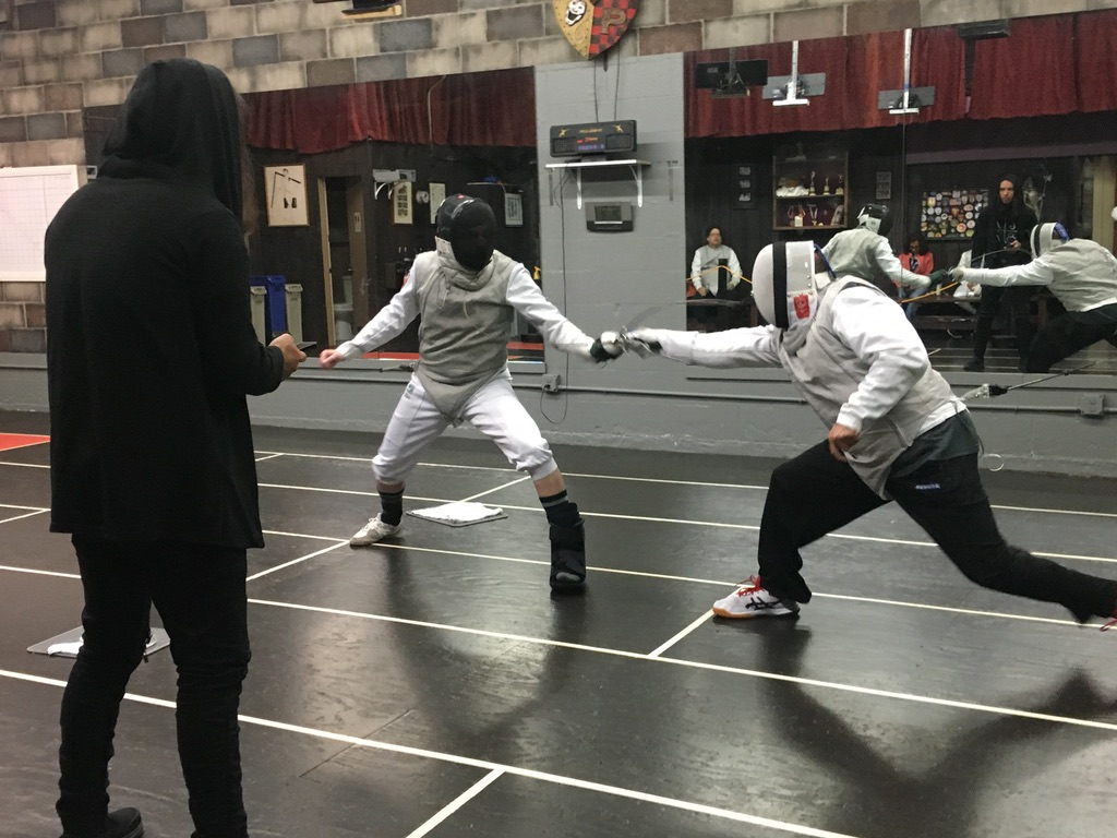 2nd Quarterly Fencing Tournament, Adult Foil 2