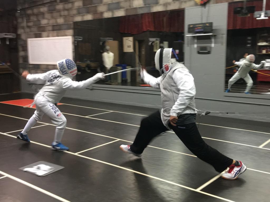2nd Quarterly Fencing Tournament, Adult Foil 3