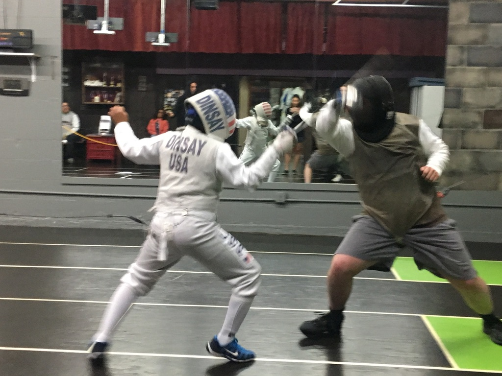 2nd Quarterly Fencing Tournament, Adult Foil 4