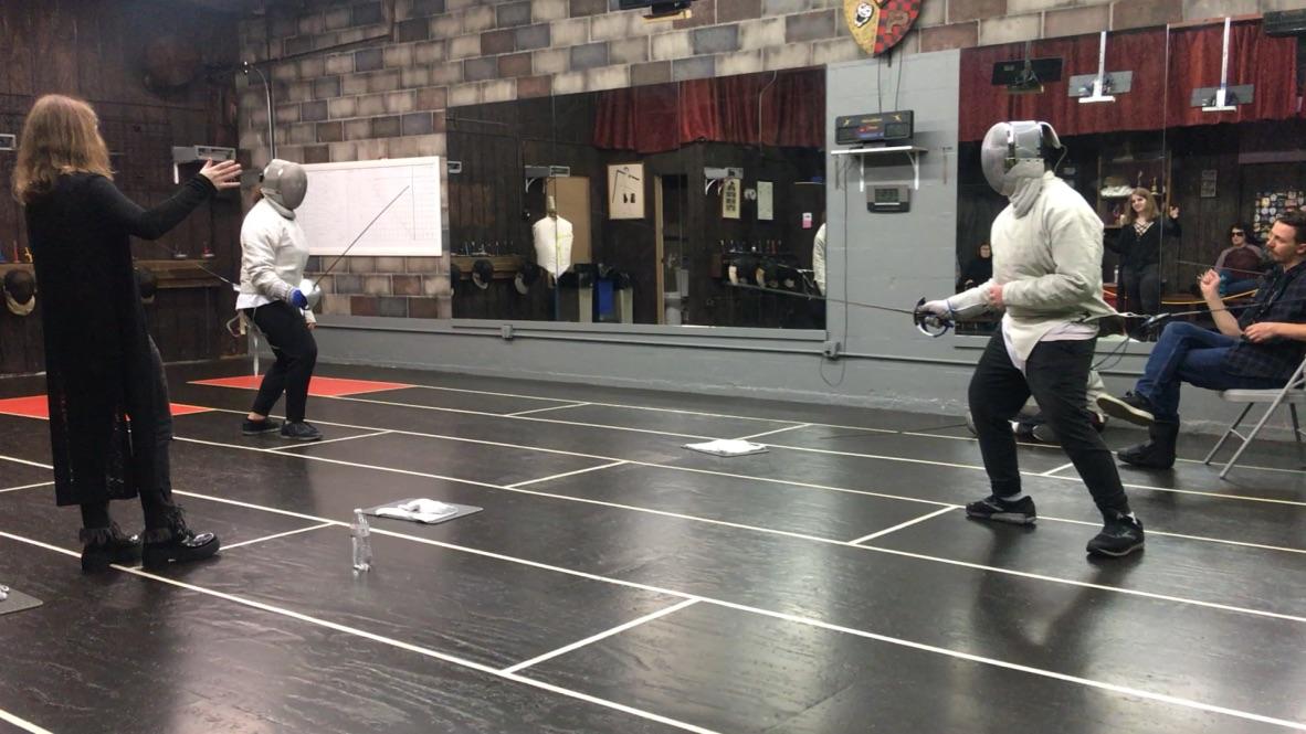 2nd Quarterly Fencing Tournament, Kids Sabre