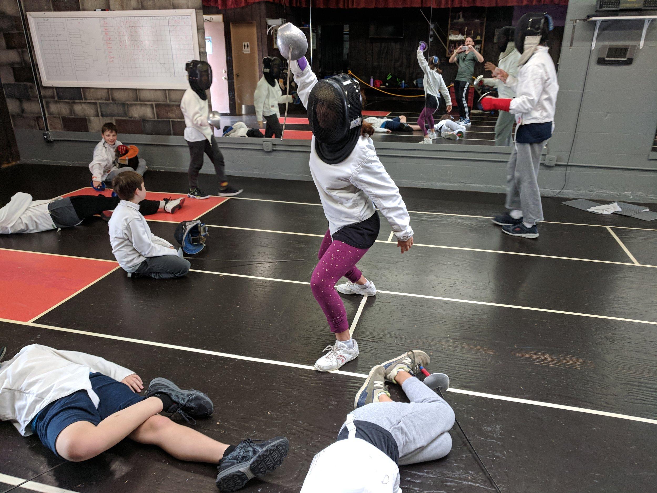 Swordplay LA Kids Sabre Camp 3