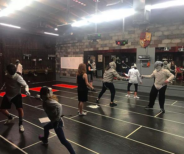 Swordplay LA Open Fencing, Foil and Sabre